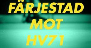 Missa inte 5e omgången av Färjestad-HV71 nu på Lördag, nedsläpp 15.15. Nu börjar…