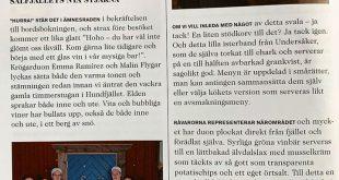 Hemma efter två härliga dygn i Malmö, med oss har vi en fantastisk recension frå…