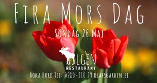 Fira Mors dag. Varmt välkommen att boka bord på Olarsgården. www.olarsgarden.se …