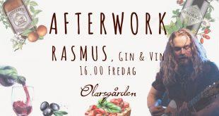AW med Rasmus på Olarsgården