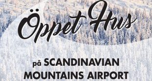 ÖPPET HUS PÅ SCANDINAVIAN MOUNTAINS AIRPORT!  Nu på lördag den 7 september kan d…